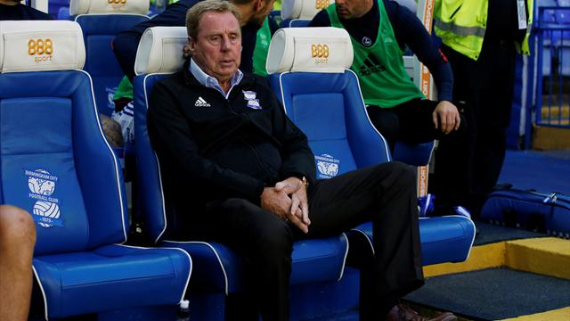 Redknapp won't retire after Birmingham sacking