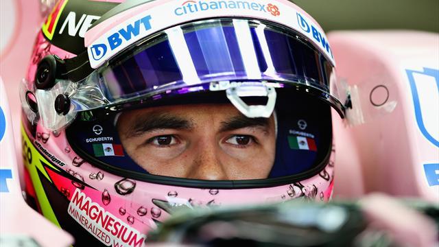 Force India continue avec la paire Pérez - Ocon pour 2018
