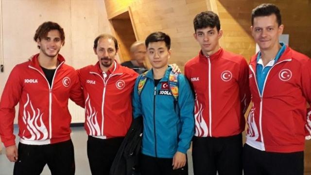 Türkiye masa tenisinde Avrupa Süper Ligi'nde