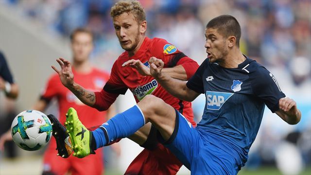 Hoffenheim verpasst Sprung an die Spitze