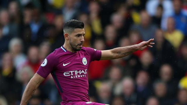 "Ilkay Gundogan pays tribute to ""goal machine"" Sergio Aguero"