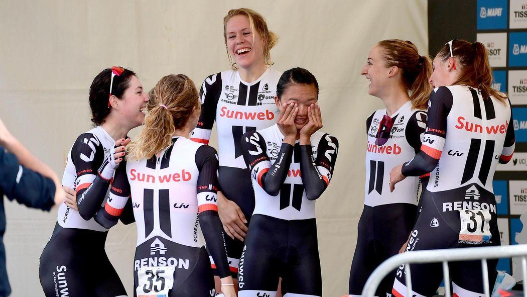 Team Sunweb savour women s TTT world title - World Championships ... f8b2a297a
