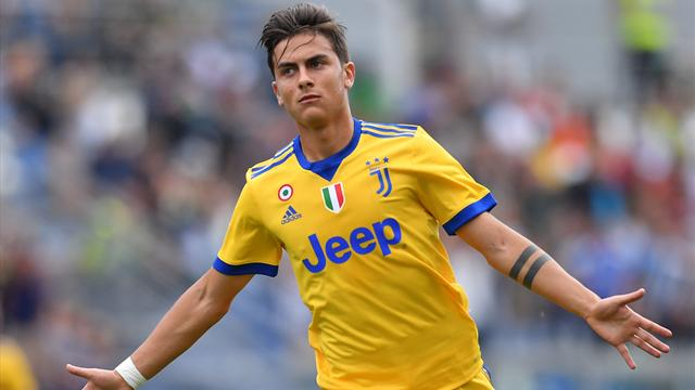 Dybala hits hat-trick as Juventus see off Sassuolo to go top