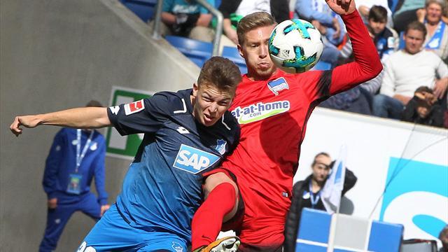 Europacup-Pleite nicht verdaut: Hoffenheim strauchelt gegen Hertha