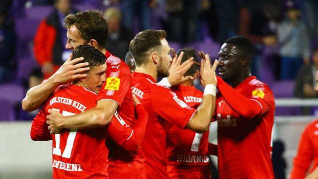 Düsseldorf verliert Tabellenführung an Kiel, Meier unter Druck