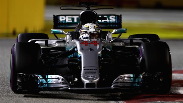 Hamilton más líder, drama en Ferrari y Sainz, cuarto, su mejor posición en la F1
