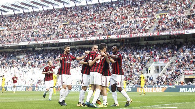 Esordio da sogno a San Siro per Nikola Kalinic: doppietta e 2-1 sofferto del Milan all'Udinese