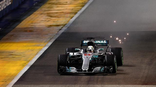 Formel 1: Hamilton gewinnt in Singapur - Vettel scheidet früh aus