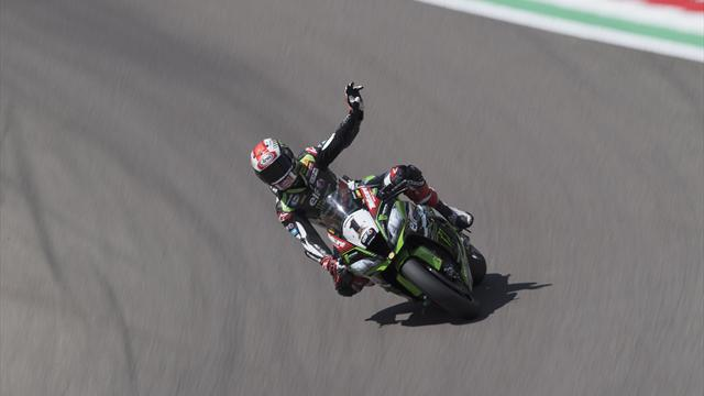 Rea completes Portimao double as Davies crashes out