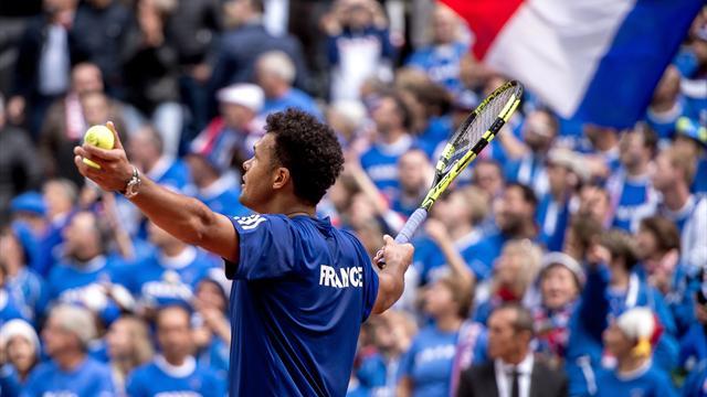 Pour la finale, les Bleus retourneront à Lille... et joueront sur dur