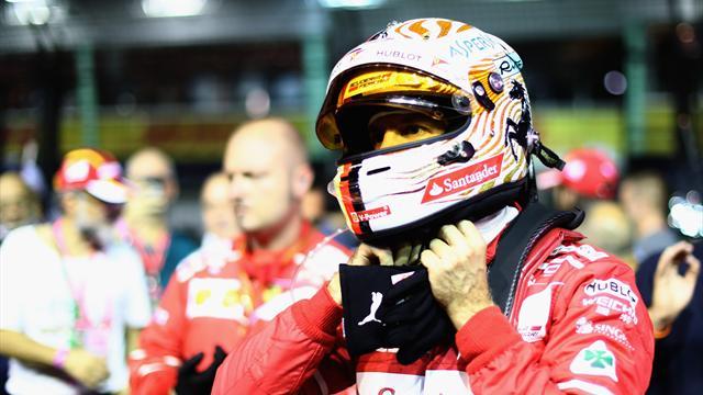"""Vettel : """"A qui la faute ? Je ne sais pas encore…"""""""