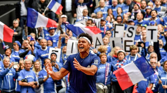 Сборная Франции вышла в финал Кубка Дэвиса