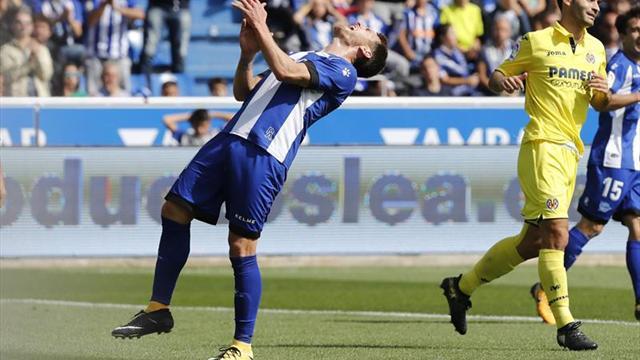 El Alavés iguala el peor inicio de su historia en Primera División