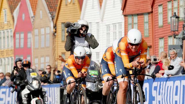 Boels Dolmans left with sour feeling after Sunweb stun them in Worlds TTT