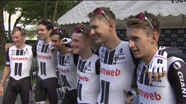 Sunweb complete TTT double at World Championships