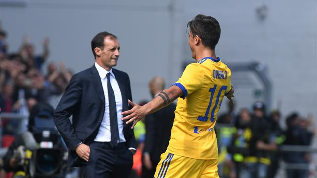 Allegri heaps praise on Dybala after comfortable Juventus win
