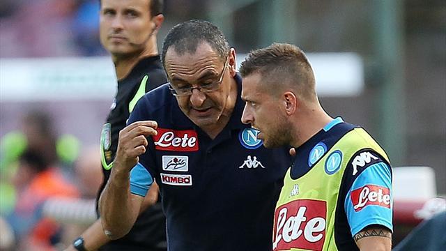 """Sarri: """"Possiamo arrivare in alto. I rigori di Mertens? Giusto sfamare la sua fame di gol"""""""