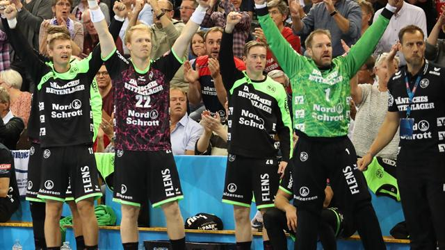 Handball-Champions-League: Flensburg gewinnt gegen Aalborg, Kiel unterliegt Paris