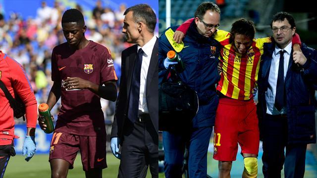 Même minute, même adversaire… Dembélé imite Neymar sans le vouloir, Internet frétille