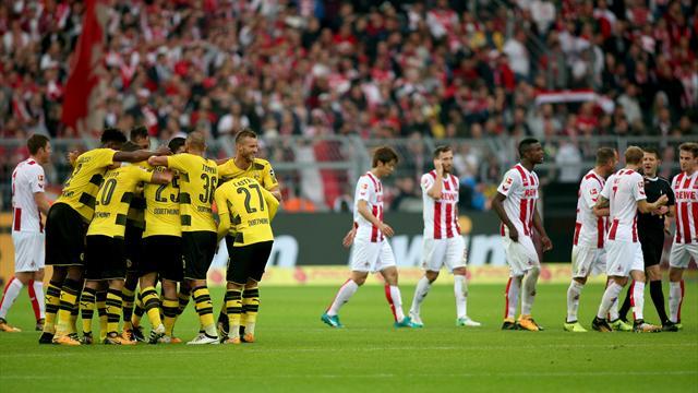 BVB fegt Köln vom Platz - wieder strittige Videobeweise