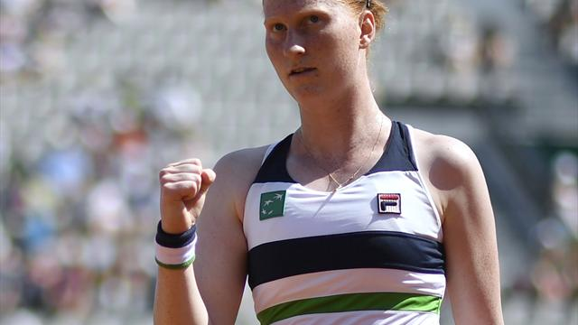 Maria-Bezwingerin Van Uytvanck Turniersiegerin in Québec