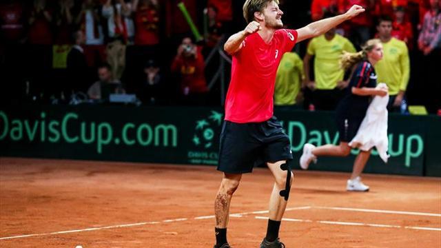 Goffin y Darcis devuelven a Bélgica a la final de la Copa Davis