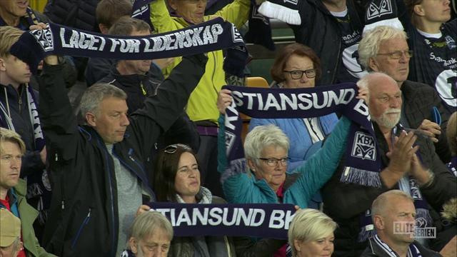 Kristiansund fikk poeng på Åråsen