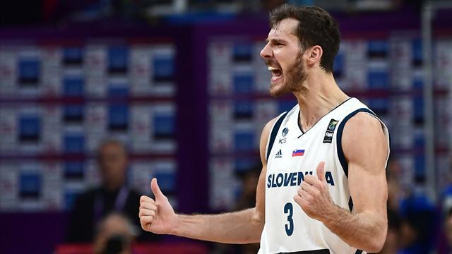 Dragic quitte l'équipe nationale slovène