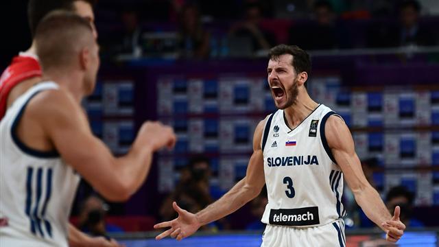 Dragic offre à la Slovénie son premier sacre