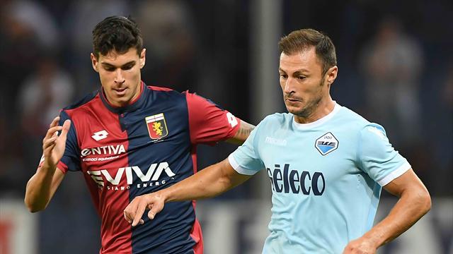 «Лацио» благодаря дублю Иммобиле вырвал победу у«Дженоа»
