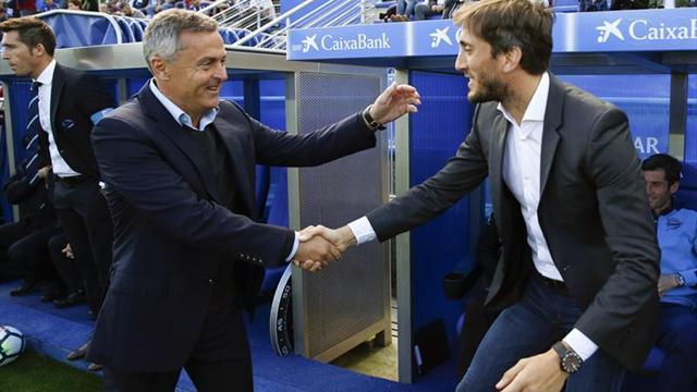 El Alavés despide a Luis Zubeldía, primer entrenador destituido en Primera