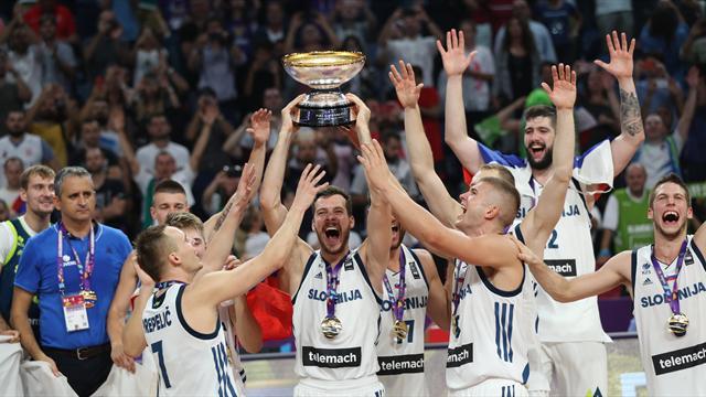 Eslovenia da la sorpresa y queda campeón por primera vez del Eurobasket