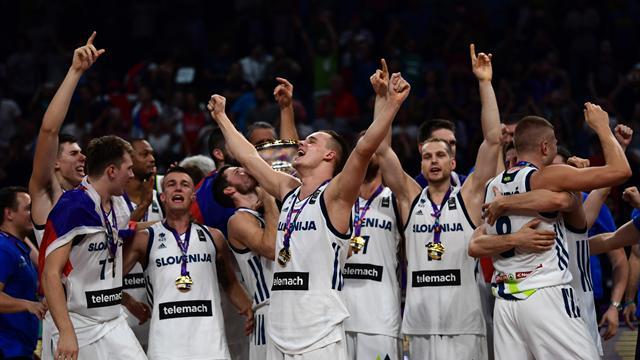 Dragic show, è la Slovenia la regina d'Europa: Serbia battuta 93-85