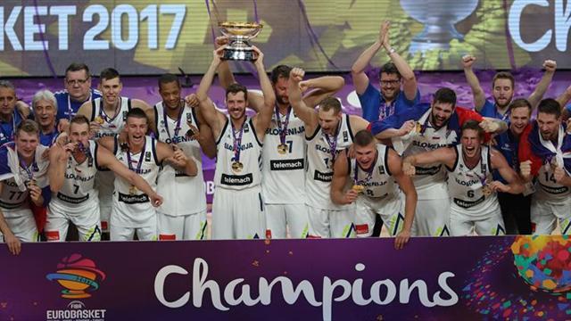 Eslovenia logra su primer título del Eurobasket