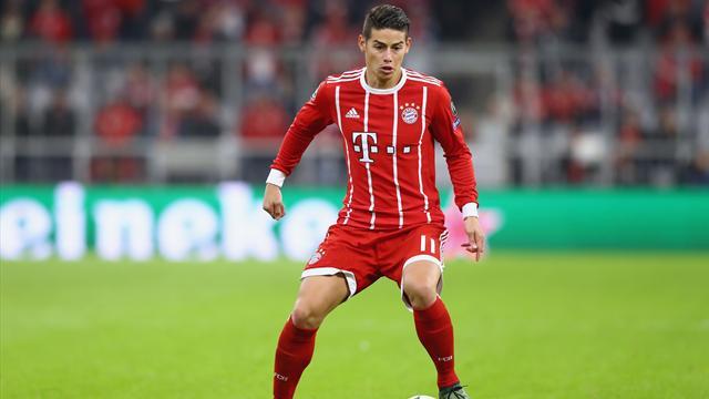 Bundesliga, Schalke 04-Bayern: Primera titularidad de James y primera exhibición (0-3)