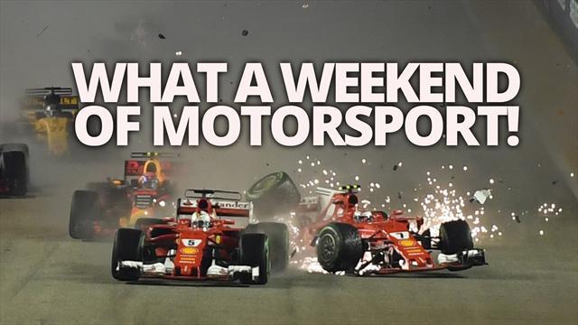 What a weekend of motorsport...
