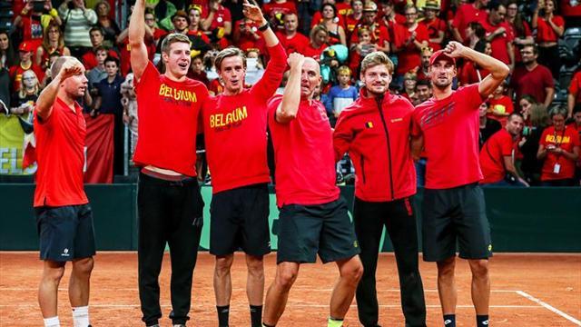 Francia y Bélgica disputarán la final de la Copa Davis en Lille