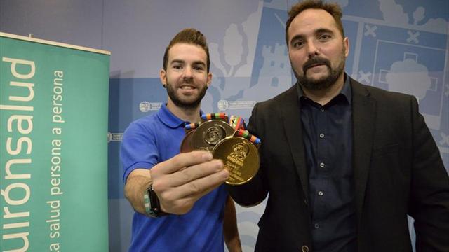 Peula: No daba un duro por mi cuando conseguí la medalla de oro