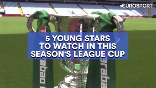 5 young stars to watch in the 2017/18 League Cup