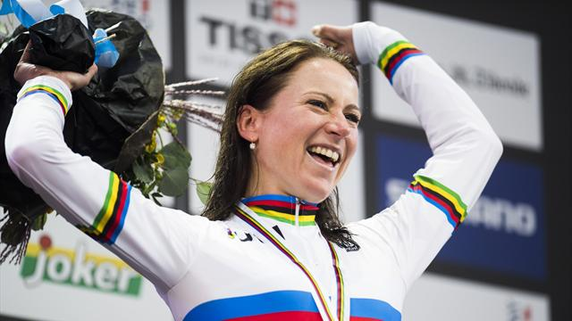 Van Vleuten storms to World Time Trial title