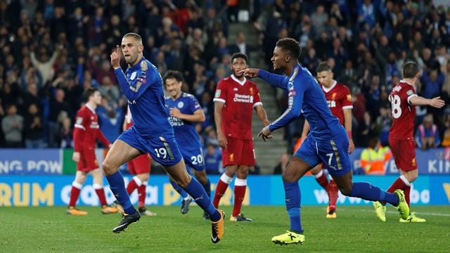 Lacklustre Liverpool crash out of League Cup at Leicester
