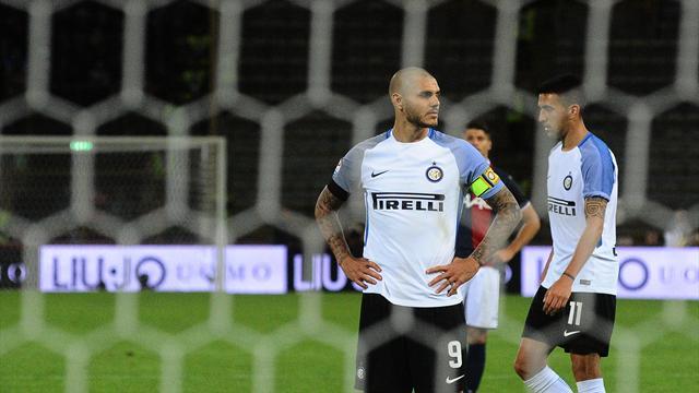 Premier accroc pour l'Inter