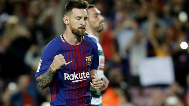 Clasificación de goleadores La Liga  2017 - 2018