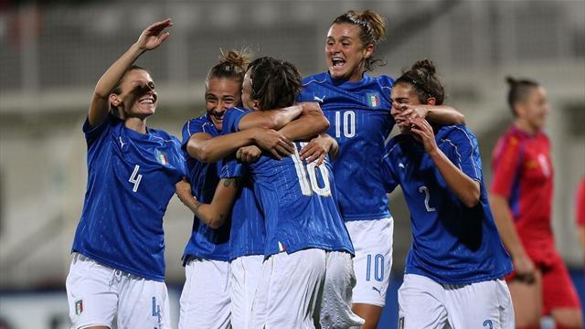 Stasera l'Italia si gioca i Mondiali di calcio femminile