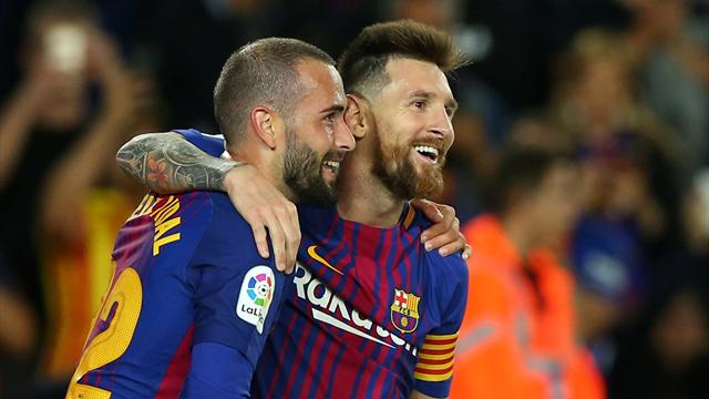 Messi hits four as Barcelona destroy Eibar
