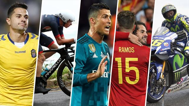 Cristiano, Froome, la Liga de Naciones, Vitolo y Rossi, los nombres del día