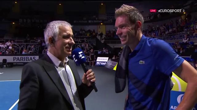 """Mahut : """"Le tennis était là, les jambes un peu moins"""""""