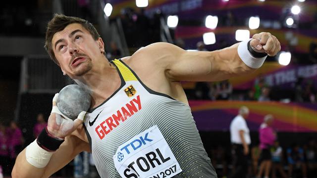 Diamond League: Storl beim Brüsseler Finale Vierter