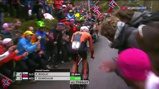 Tom Dumoulin è campione del mondo a cronometro: l'olandese dà 1' ai suoi avversari
