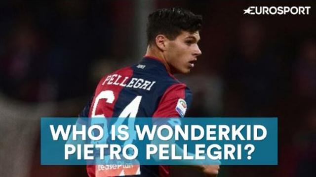 Who is teenage wonderkid Pietro Pellegri?